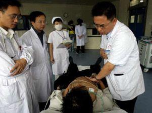 Un chino muere de felicidad al saber que tenía los gastos médicos pagados