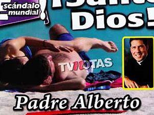 Famoso sacerdote hispano 'pillado' con su supuesta amante en una playa de Miami