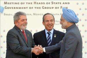 El presidente mexicano apuesta porque el G5 sea un ente aut�nomo en 2010