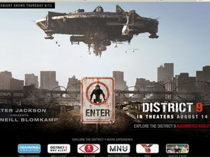 """District 9"", ciencia-ficción hiperrealista alumbrada por Peter Jackson"