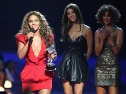 Beyoncé, la reina de los MTV