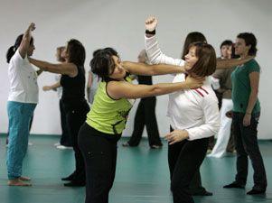 Clases de autodefensa para mujeres víctimas de violencia de género