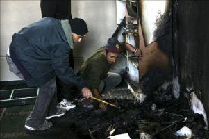 Colonos judíos profanan una mezquita en territorio ocupado palestino