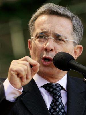 Uribe desautoriza cualquier pronunciamiento de guerra contra Venezuela