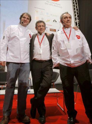 El chef franc s jacques maximin evoca en santiago su for Chef en frances