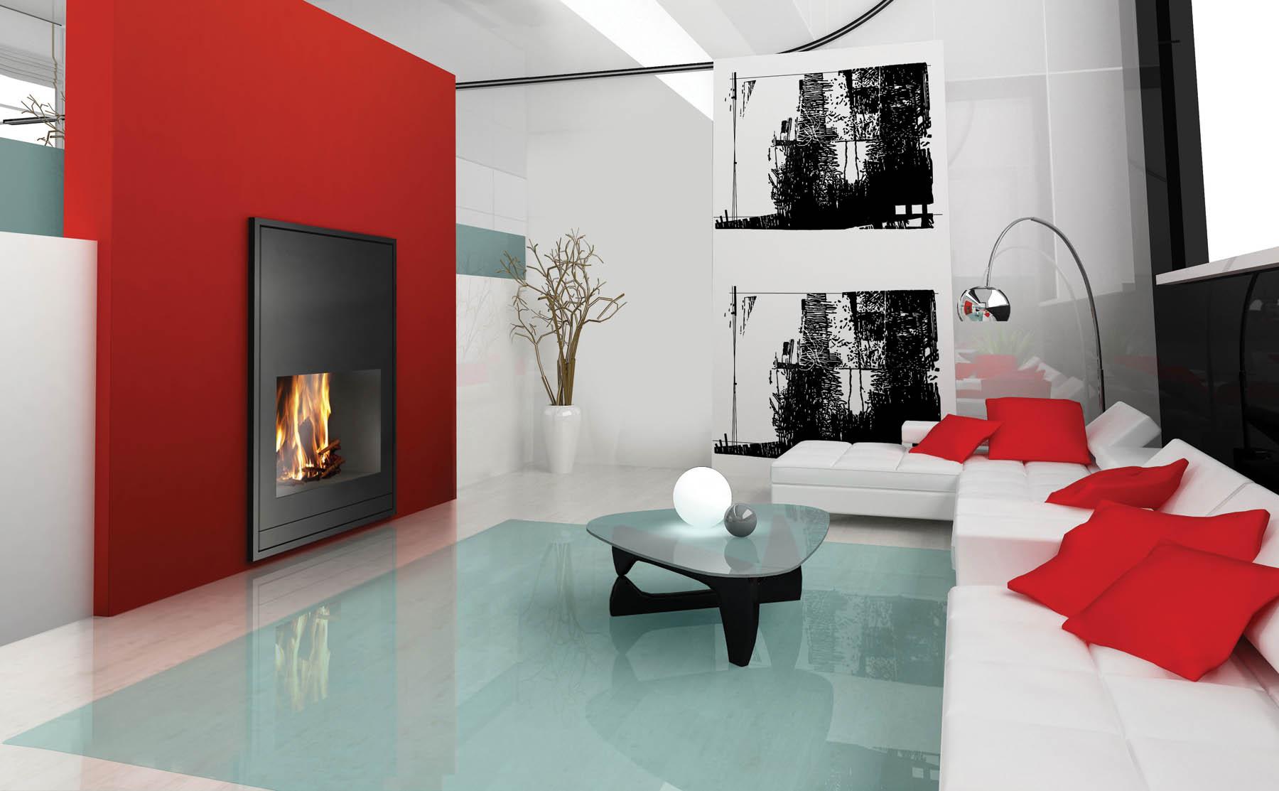 Calor de hogar con lo ltimo en dise o for Diseno de hogares a lena modernos