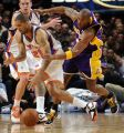 Chandler y Bryant, en el Knicks-Lakers