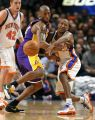 Kobe Bryant y Chris Duhon, en el Knicks-Lakers