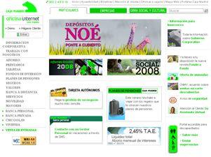 Caja madrid posee la web bancaria mas practica en espa a for Bankinter oficina internet