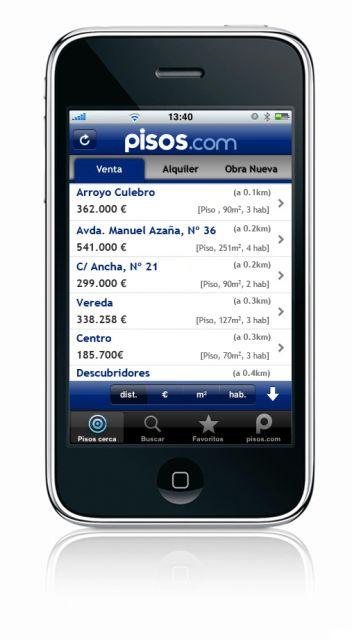 Aplicaci n para iphone de 4 qu es - Aplicaciones para buscar piso ...