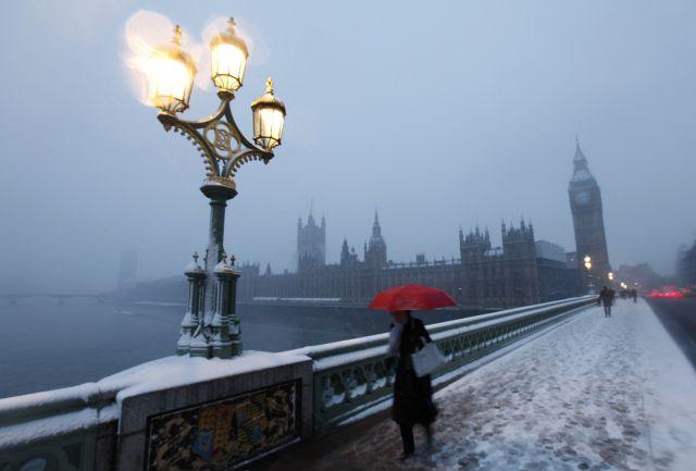 invierno en londres: