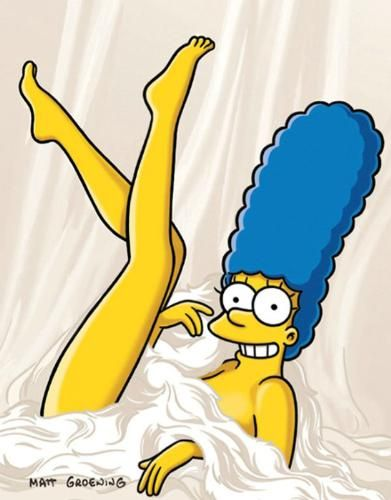 Marge Simpson Posa Para Playboy Foto Europa Press