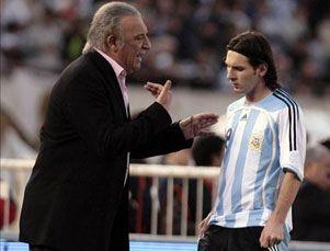Messi acepata haber