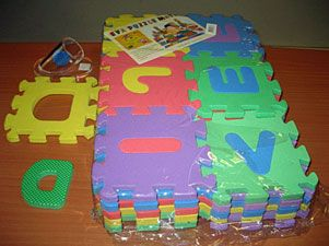 La ocu detecta sustancias peligrosas en las alfombras de - Alfombras puzzle infantiles ...