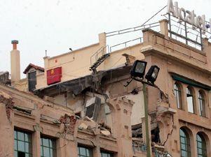 Una explosi n de gas destruye una planta de un edificio de for Oficinas gas natural madrid