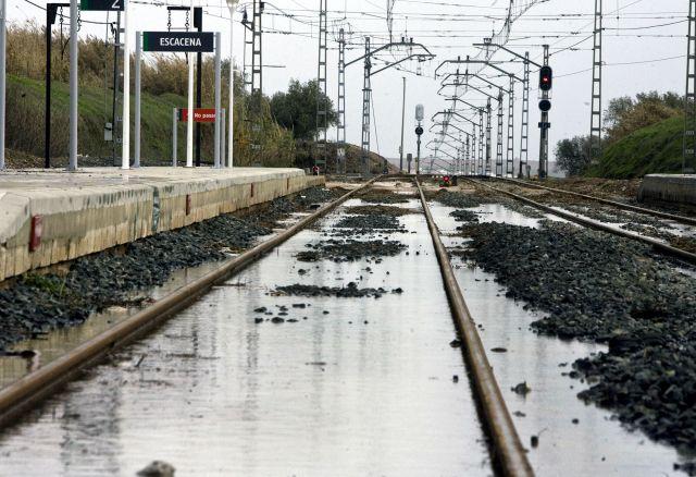 estacion tren huelva: