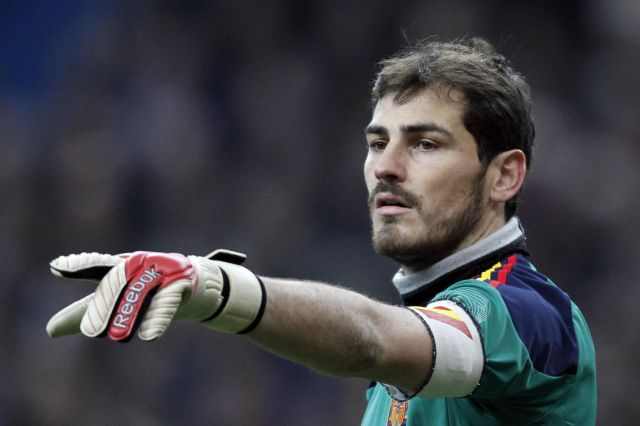 Casillas  Portero Del Real Madrid  Foto  Reuters