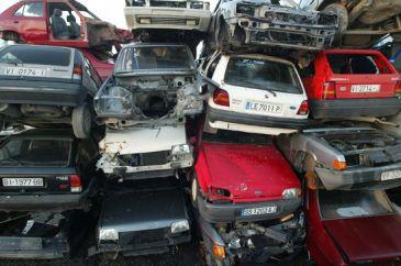 tr fico empieza a gestionar el desguace de coches