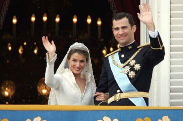 Foto: Los Príncipes de Asturias, don Felipe y doña Letizia, el día