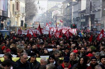 Convocan a huelga general hoy en Italia