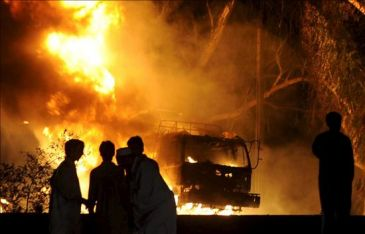Cuatro muertos en bombardeo de EEUU en Pakistán