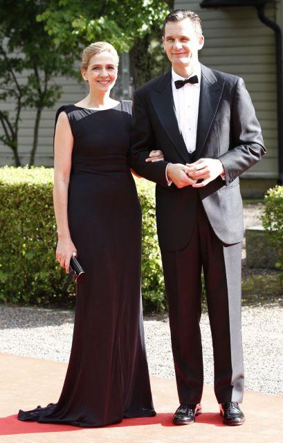 Infanta Cristina e Iñaki Urdangarin en la cena previa a la boda de Victoria de Suecia