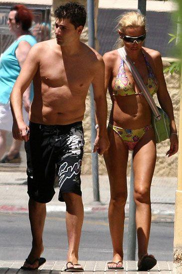 Fran lvarez junto a su mujer bel n esteban durante las vacaciones de hace dos veranos foto - Tiempo en paracuellos del jarama ...
