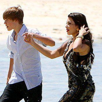 Kim Kardashian querría que Justin Bieber fuese su 'baby' si tuviese 18 años