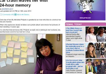Una mujer pierde la memoria, cree que es 1994 y que aún está soltera