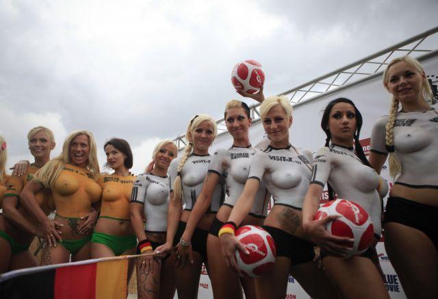 De Actrices Eroticas Han Disputado Un Alemania Australia Futbol