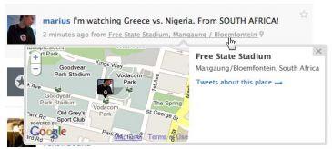 Twitter lanza 'Twitter Places', un servicio de geolocalización