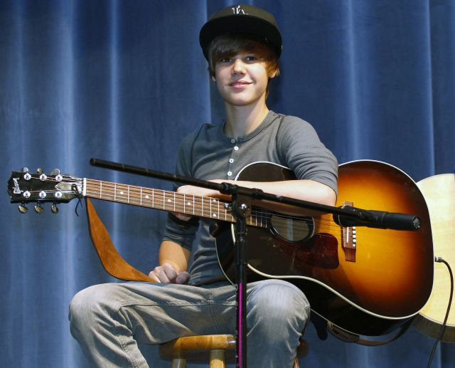 Justin Bieber y John Lennon