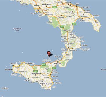 Terremoto de 4,5 grados en el mar Tirreno italiano, próximo a Sicilia