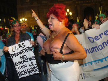 local transexual barcelona: