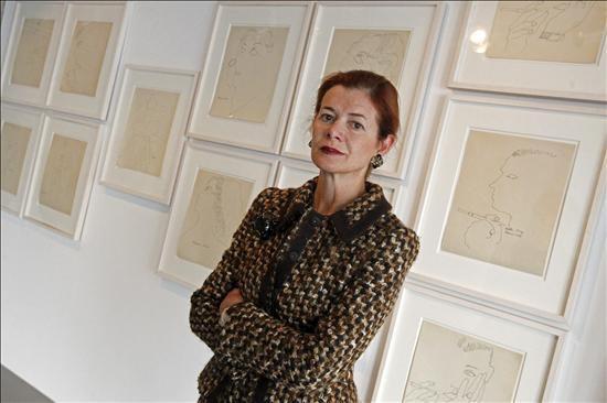 la fundadora de la editorial ivorypress elena ochoa posa durante la entrevista que ha concedido hoy a la agencia efe en referencia a la inauguracin de