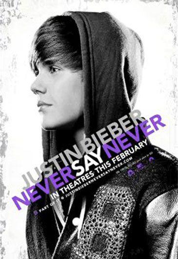 El Póster De La Película De Justin Bieber, Revelado En U0027Twitteru0027 Como Si