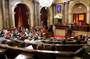 Los grupos minoritarios se quedan fuera de la nueva mesa for Mesa parlament