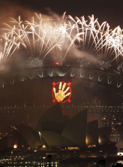 ¡Ya es 2011 en Sidney!