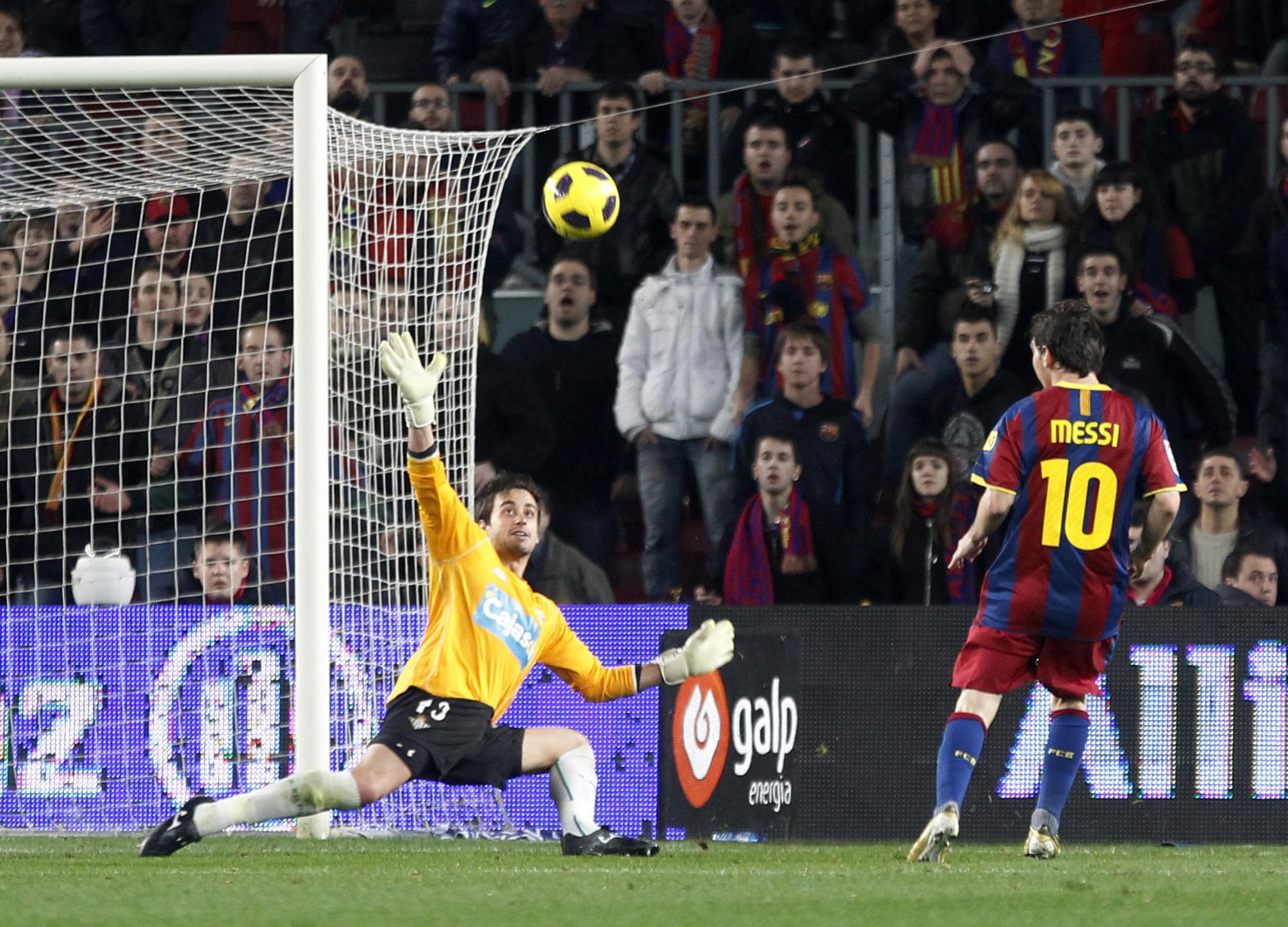 Copa del rey messi marca el primer gol del bar a frente al betis qu es