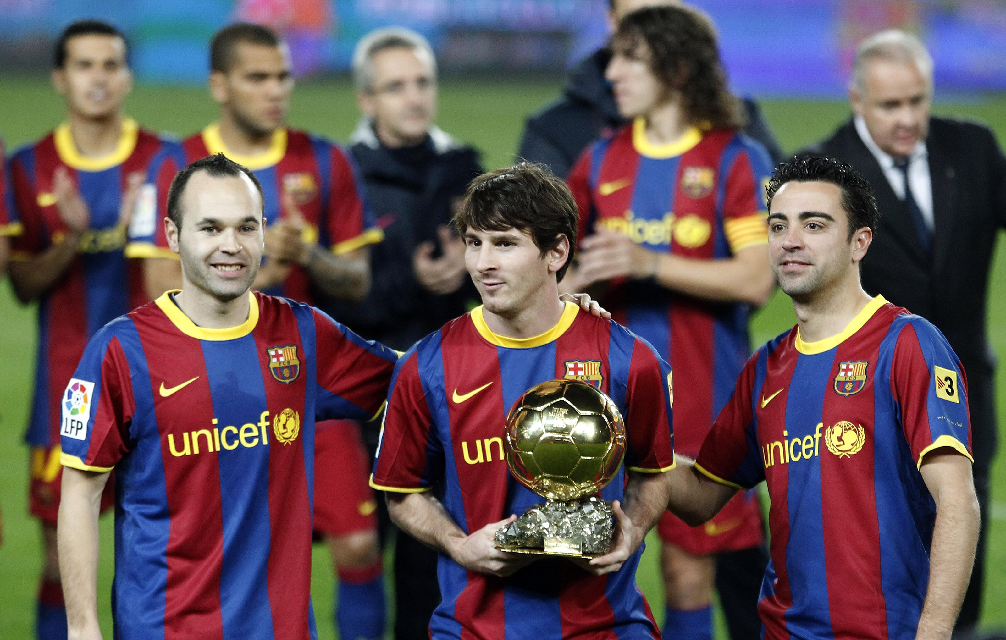 Messi, Xavi y Puyol se aseguran acabar su carrera en