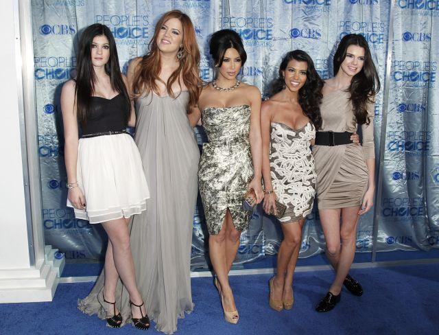 Las chicas 'K' (Kendall, Kylie, Kim, Khloe y Kourtney) en los People's