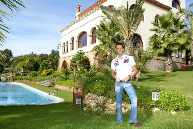 La cantante Shakira ha alquilado la casa de David Meca en Bellaterra (Barcelona). Foto: Marta Becerra / Qué.es