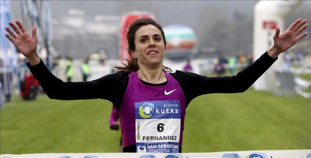 Resultado de imagen de fotos nuria fernandez atleta.