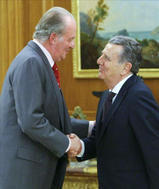 Resultado de imagen de Joan Carles I i conde  Godó