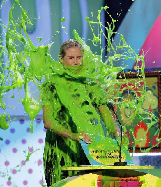 heidi klum kids choice awards. Kids#39; Choice Awards 2011.