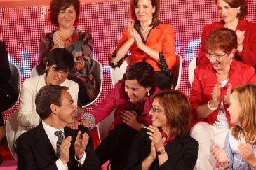 """Retegui pide Igualdad para que las mujeres puedan """"darle la vuelta"""" a los territorios gobernados por el PP"""