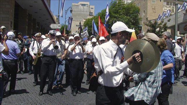 Veteranos de la Segunda Guerra Mundial conmemoran en Jerusalén la victoria aliada