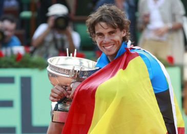 Rafa Nadal ya es el sexto tenista de la historia con más Grand Slams