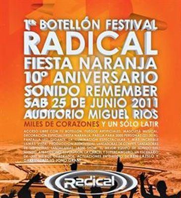 Llega a Madrid el primer festival del botellón