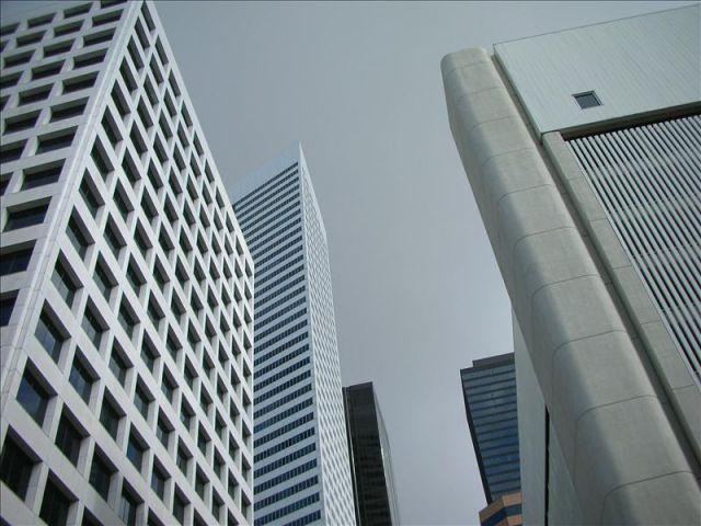 imagen de unos edificios del centro comercial downtown de houston texas efearchivo quees